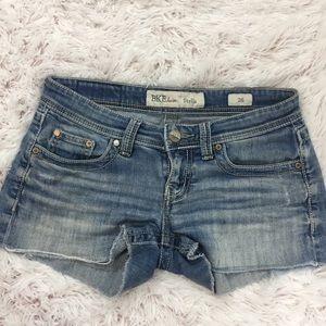 BKE Denim Stella Cut-Off Jean Shorts, Size 26